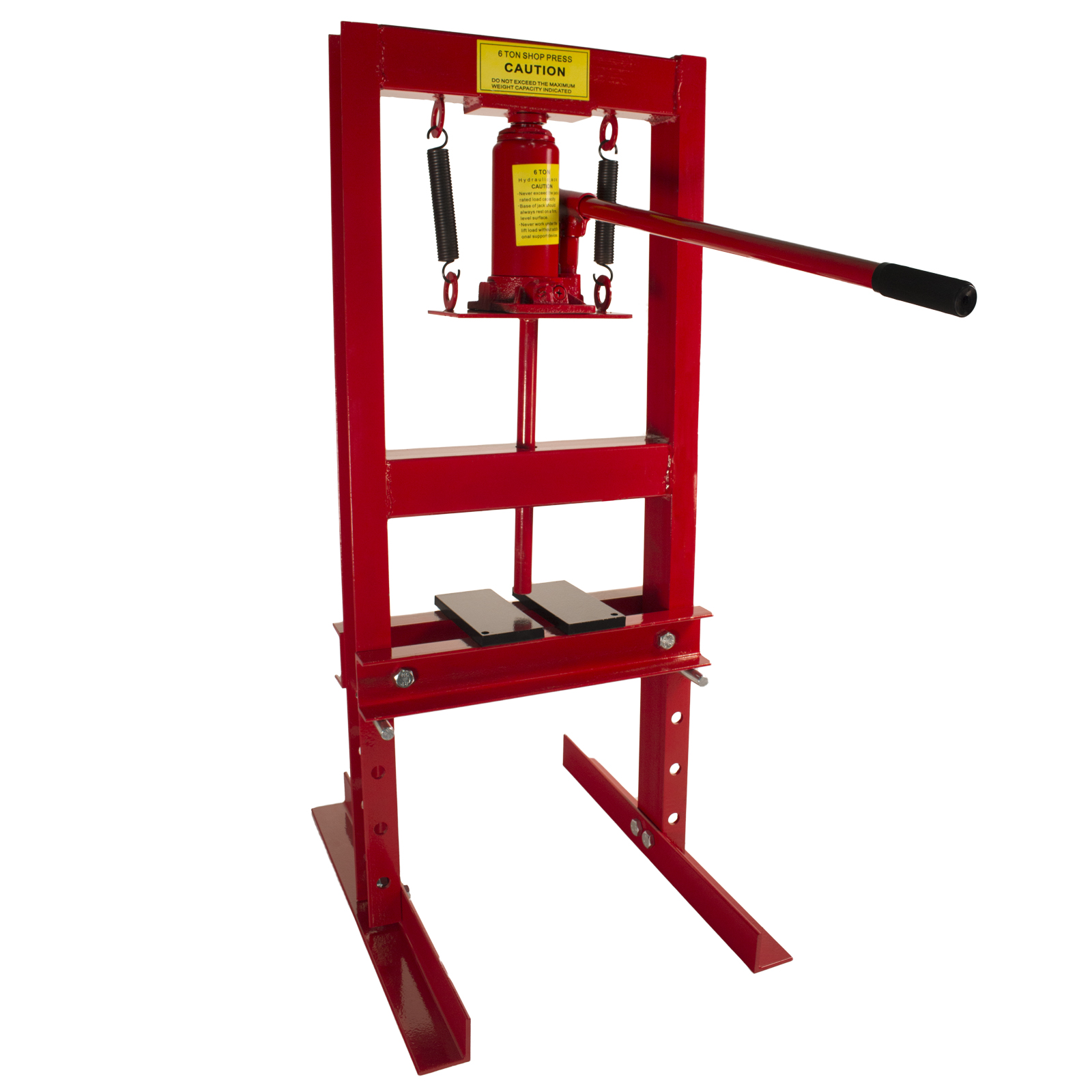 Dragway Tools Premium Steel 6 Ton, 12,000 lbs Hydraulic Bench Top Shop Press with Press Plates at Sears.com