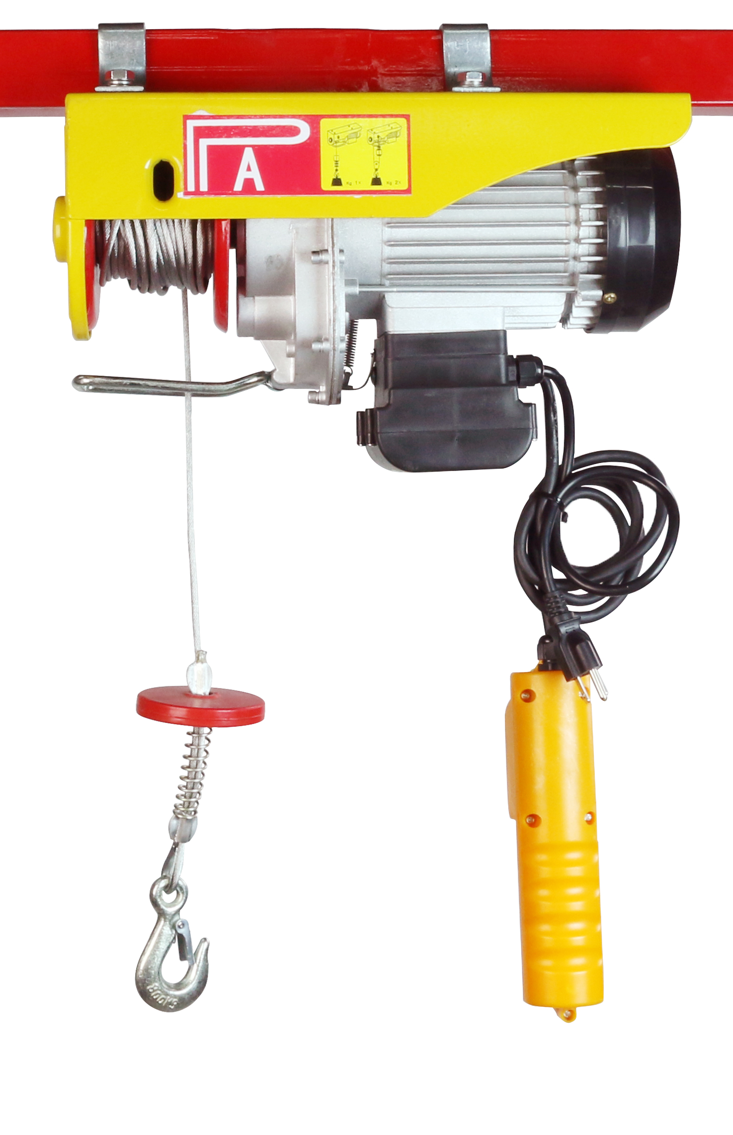 Overhead Electric Cable : Sdt lb electric wire cable hoist remote garage shop